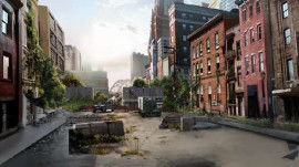 "Scenes of Wasted Cities from Naughty Dog's ""The Last of Us"""