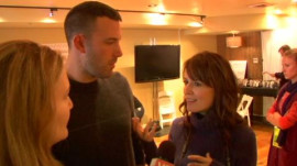 "Ben Affleck and Rosemarie DeWitt on ""Company Men"""