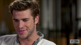 "Liam Hemsworth on ""The Hunger Games: Catching Fire,"" Marrying Miley, and Working at a Penguin Parade"