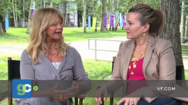 Aspen Ideas Festival: Goldie Hawn on Meditation and Working with Returning American Soldiers