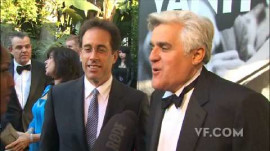 Guests Arrive at the 2010 Vanity Fair Oscar Party Dinner