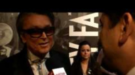 2009 Vanity Fair Oscar Party: Robert Evans and Ariana Huffington