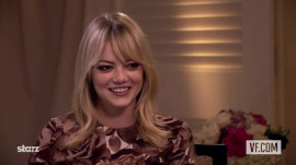 "Emma Stone on ""Gangster Squad"""