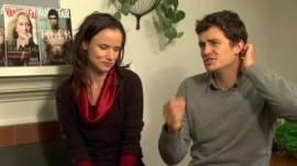 "Juliette Lewis and Orlando Bloom on ""Sympathy For Delicious"""
