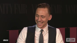 "Tom Hiddleston on Reprising His Role as Loki in ""Thor: The Dark World"""