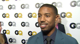 The GQ Men of the Year Party: Michael B. Jordan on Style