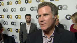 The GQ Men of the Year Party: Will Ferrell on Working with Ron Burgundy