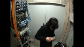 MIT Surveillance Video of Aaron Swartz, January 2011