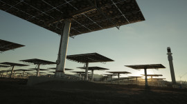 Crescent Dunes Solar Energy Project Part 2: Building the Power Plant