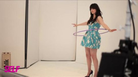 Zooey Deschanel's SELF Cover Shoot