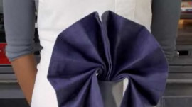 How to Do a Fan Napkin Fold