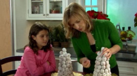 Making a Kids' Croquembouche