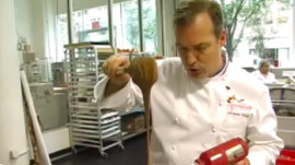 Jacques Torres Shows How to Temper and Store Chocolate
