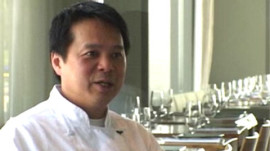 Chef Charles Phan of San Francisco's Slanted Door Restaurant