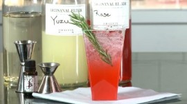 How to Make a Shanghai Rose Drink