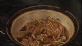 Chef Charles Phan Makes Clay Pot Chicken with Caramel Sauce
