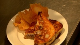 Govind Armstrong's Grilled Cheese with Short Ribs