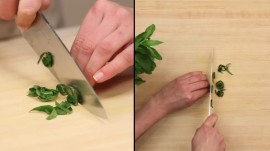 How to Chiffonade