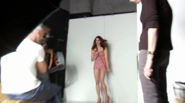 Peek Inside Glamour's May 2011 Cover Shoot Featuring Ashley Greene, Freida Pinto and Emma Stone