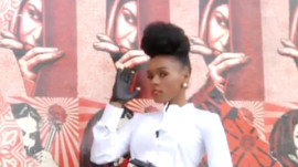 Janelle Monae and Lil Buck's Glamour Magazine Photo Shoot with Bruce Weber