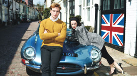 Hey Hunger Games: Catching Fire Fans, Get Finnick and Johanna Scoop Straight from Jena Malone and Sam Claflin