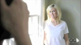 Behind the Scenes with Rielle Hunter at Her GQ Photoshoot for April '10