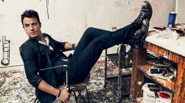 Justin Theroux's GQ Photo Shoot
