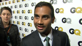 The GQ Men of the Year Party: Aziz Ansari on Being a Southern Gentleman
