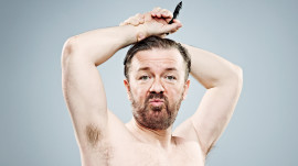 Ricky Gervais on His Favorite Swearword for GQ's Comedy Issue