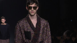 Dries Van Noten: Fall 2013 Menswear
