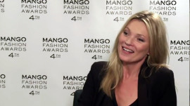 Kate Moss at the Mango Fashion Awards