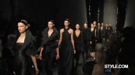 Donna Karan: Fall 2010 Ready-to-Wear