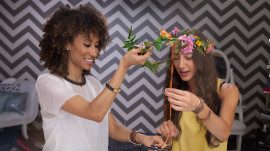 Making Your Own Flower Crown