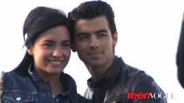 Demi Lovato and Joe Jonas's Teen Vogue Cover Shoot