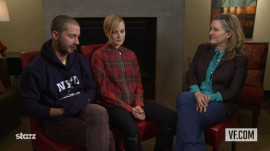 "Shia LaBeouf and Evan Rachel Wood on ""The Necessary Death of Charlie Countryman"""