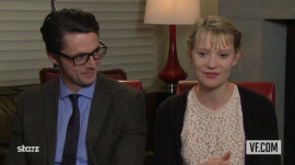 "Mia Wasikowska and Matthew Goode on ""Stoker"""