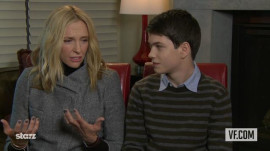 "Toni Collette and Liam James on ""The Way, Way Back"""