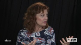 "Susan Sarandon on ""Cloud Atlas"""