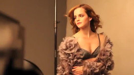 Emma Watson Strikes a Pose, then Crams for Exams