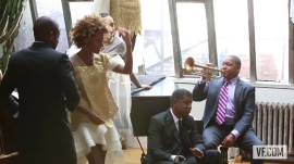 Behind the Scenes with Wynton Marsalis, K.D. Lang, and the Cast of After Midnight