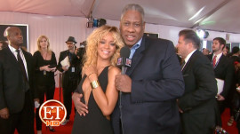 Andre Leon Talley on the Grammy's Red Carpet