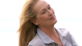 Behind the Scenes: Meryl Streep's Cover Shoot