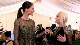 Donatella Versace Goes Punk