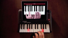 CES 2012: Ion Audio's iPad-Integrated Musical Instruments