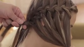 Create a Waterfall Braid