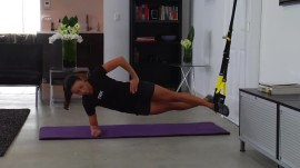 A Custom Workout You Can Do at Home With TRX