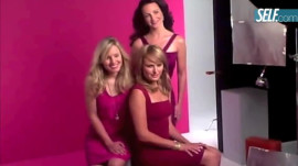 Kristen Bell, Krisitin Davis and Malin Ackerman's SELF Cover Shoot
