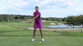 Erika Larkin: Fix Your Slice In Two Words