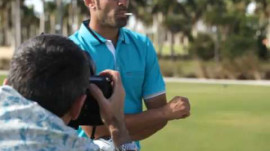 Behind the Scenes With Alvaro Quiros