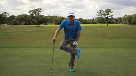 Keegan Bradley's Go-To Stretch